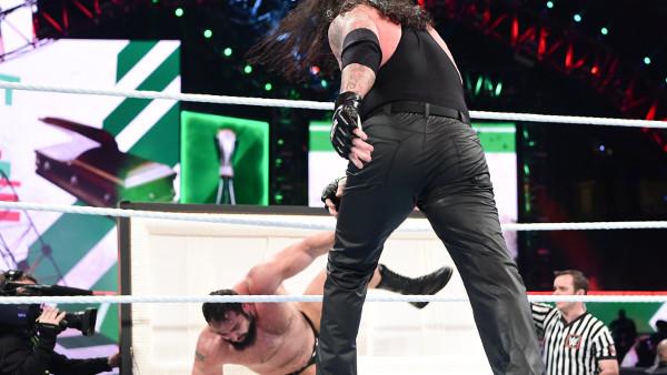 Undertaker Rusev Casket Match
