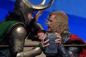 Thor Versus Loki The Avengers