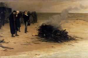 Louis Edouard Fournier   The Funeral Of Shelley   Google Art Project
