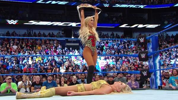 Carmella SmackDown Charlotte