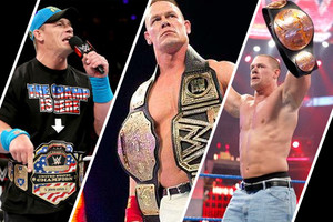 John Cena Belts