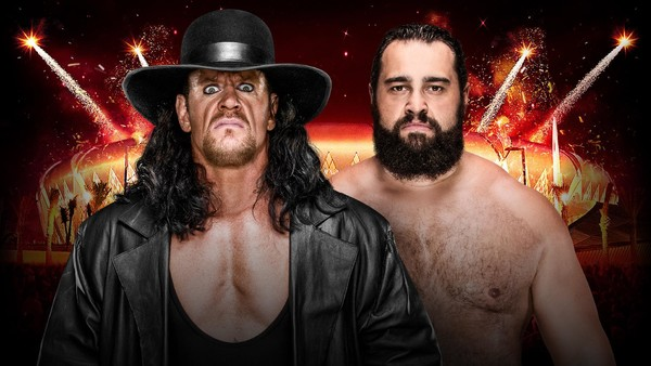 The Undertaker Rusev