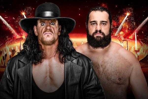 The Undertaker Rusev