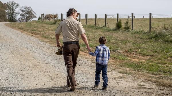 The Walking Dead Rick Carl
