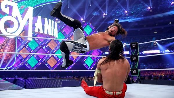 AJ Styles Shinsuke Nakamura