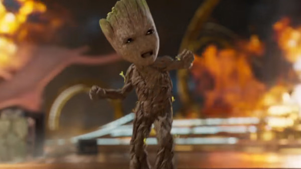 Guardians Of The Galaxy Vol 2 Groot Dance