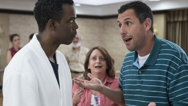 The Week Of Chris Rock Adam Sandler Cameos
