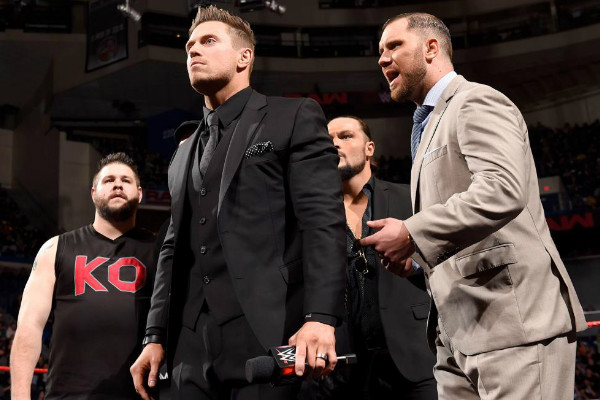 Kevin Owens The Miz Miztourage