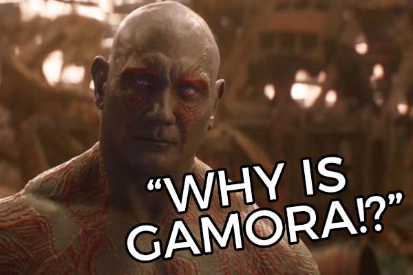 Avengers Infinity War Drax