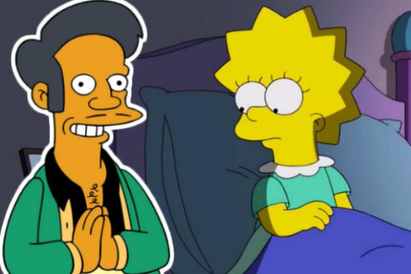 The Simpsons Lisa Apu