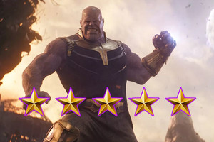 Thanos Infinity War Five Stars