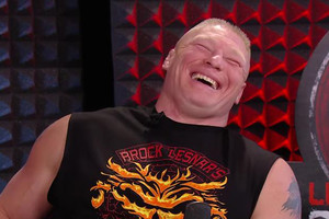 Brock Lesnar Laughing