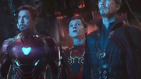 Avengers Infinity War Spider Man Tony Stark Doctor Strange