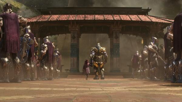 Infinity Wars Thanos Gamora Get Logan Style Fan Trailer