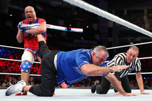 Kurt Angle Shane McMahon