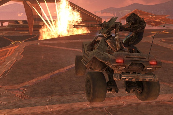 Halo 3 Ending Warthog