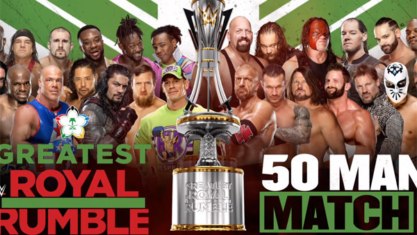 Greatest Royal Rumble Trophy
