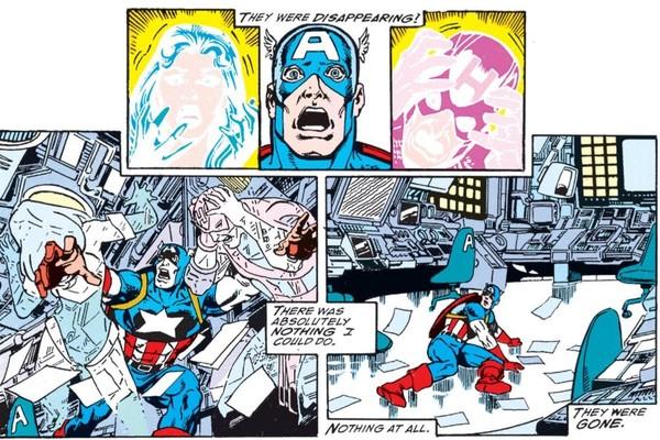 Infinity Gauntlet Hawkeye death