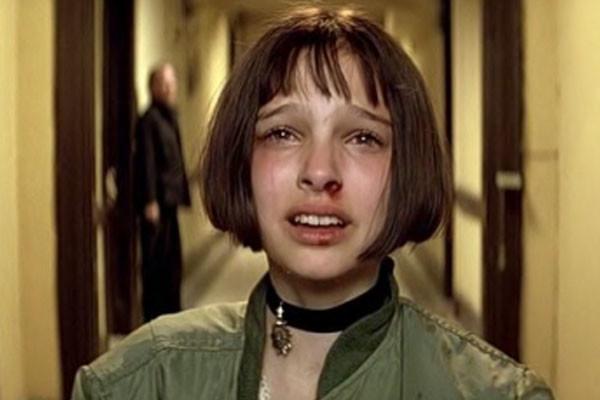 Natalie Portman Leon Crying