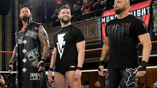 Balor Club Raw 25