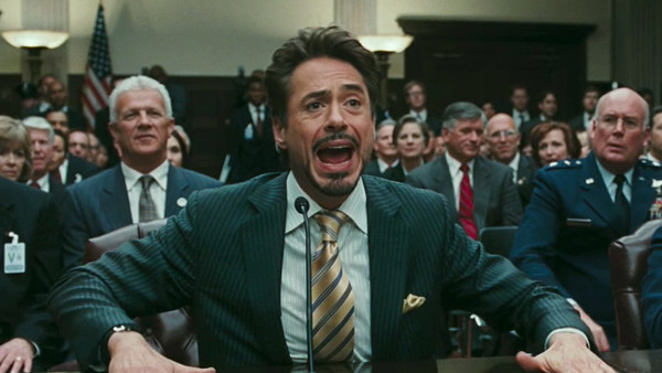 Iron Man 2 Tony Stark Senate