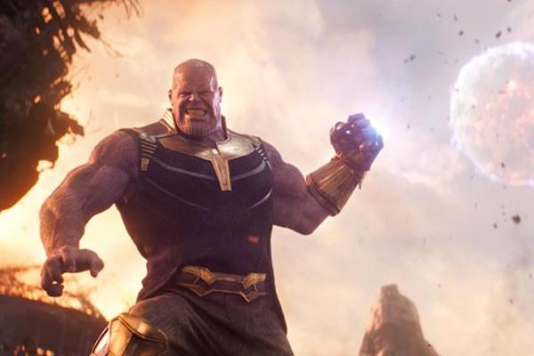 Avengers Infinity War Thanos Moon