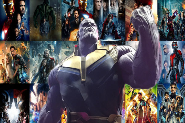 Every MCU Movie THanos