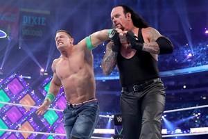 John Cena Undertaker wristlock