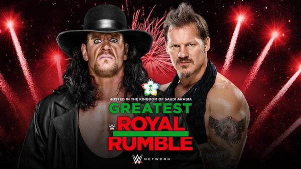Undertaker Chris Jericho Greatest Royal Rumble