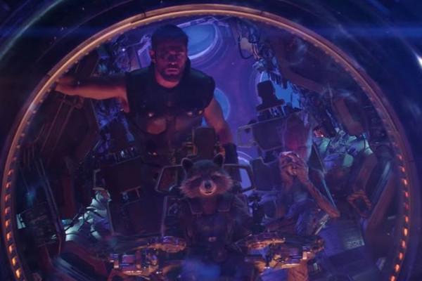 Avengers Infinity War Groot Thor Rocket