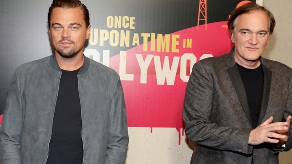 Leonardo Dicaprio Quentin Tarantino Once Upon A Time In Hollywood Cinemacon 03