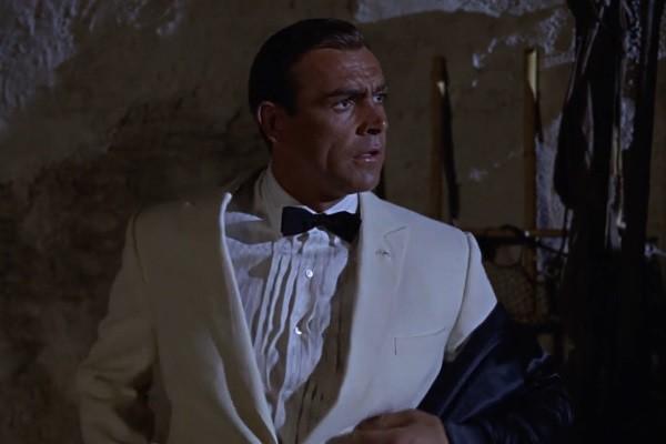 Goldfinger Sean Connery Tuxedo