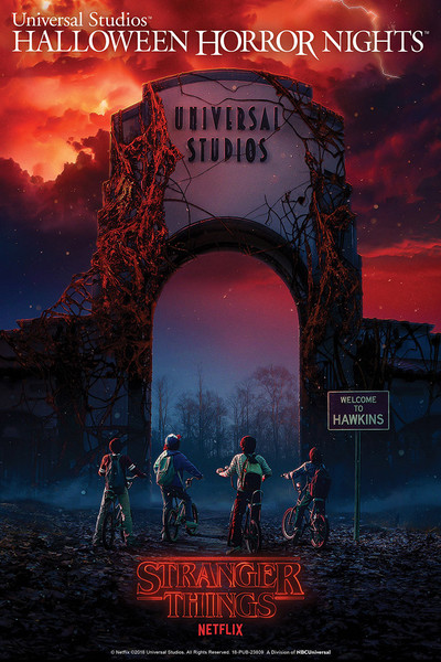 Stranger Things At Halloween Horror Nights