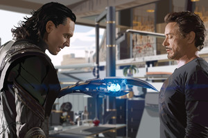 Loki V Tony The Avengers