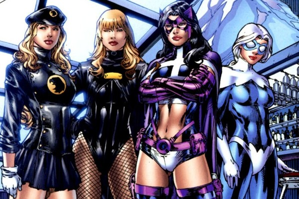 Birds Of Prey Lady Blackhawk Black Canary Huntress Dove