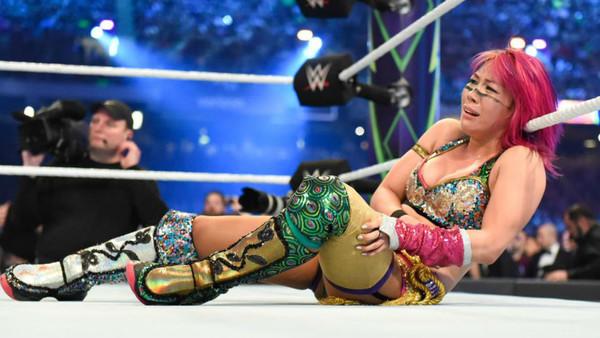 Asuka WrestleMania 34