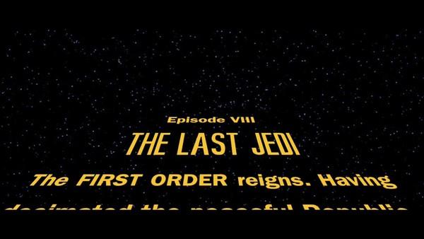 The Last Jedi Opening Crawl