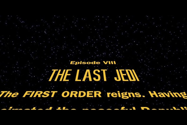 The Last Jedi Opening Crawl