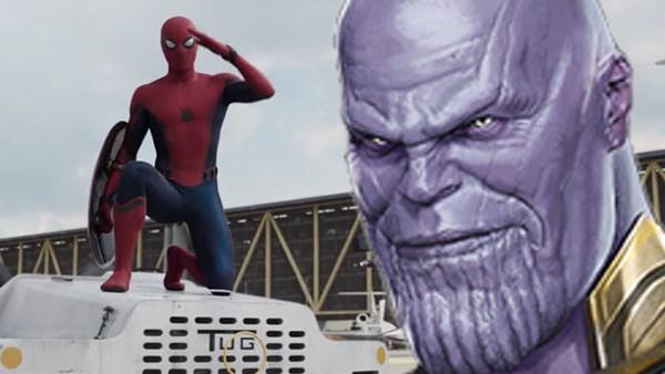 Spider Man Thanos