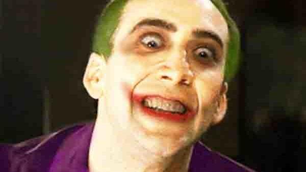 Nic Cage Joker