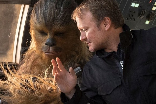 Star Wars Last Jedi Director Rian Johnson Chewbacca