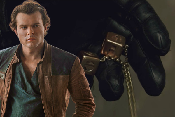 Han Solo Gold Dice