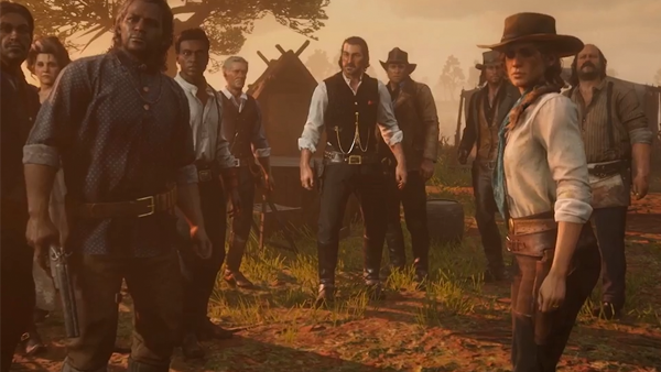 Red Dead Redemption 2 Camp 2