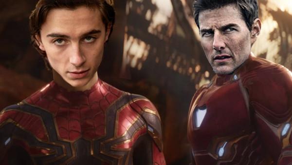 Avengers Infinity War Tom Cruise Timothee Chalamet