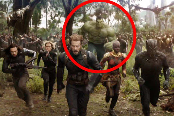 Infinity War Hulk