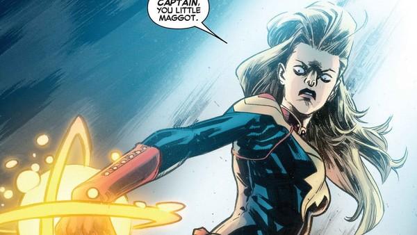 Carol Danvers Captain Marvel Maggot