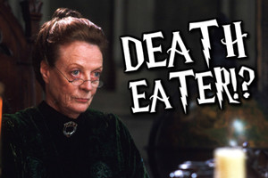 Professor McGonagall Death Eater