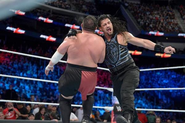 Roman Reigns Samoa Joe