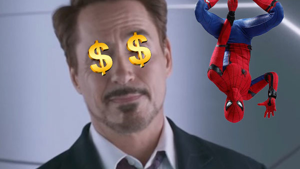 Robert Downey Jr Spider Man Homecoming