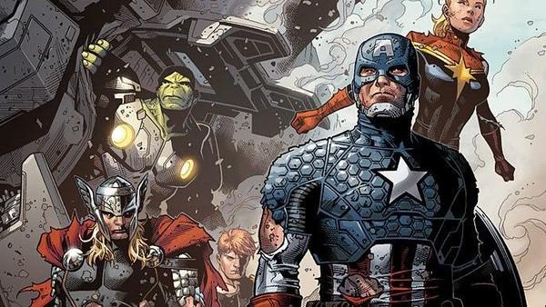 Infinity Captain America Marvel Thor